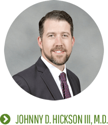 Johnny D. Hickson III, MD